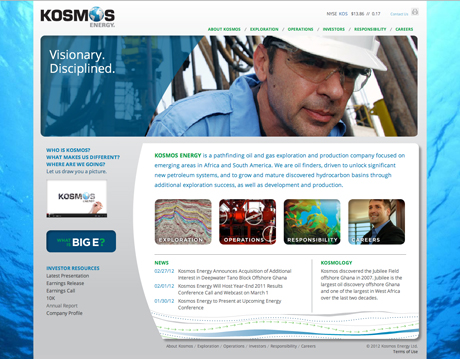 Kosmos Website